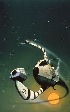 Catchworld Cover Art by Chris Foss.