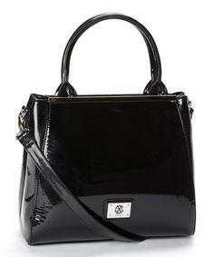 Another great find on #zulily! Black Louise Tote by CXL by Christian Lacroix #zulilyfinds