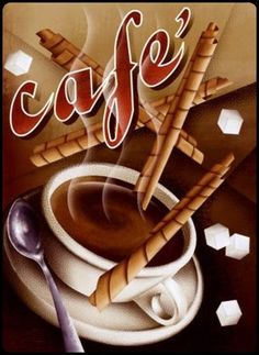 coffee and chocolate  sticks…yummy