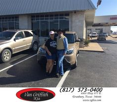 https://flic.kr/p/AJvW5E | Van Griffith Kia Customer Review | Van Griffith Kia is the only place I buy my cars from. This is our second from them and the service is always exceptional. Kyle and Jim work with me to get me the car I want for the payment that works for me. These guys know what they are doing. Thanks again.  Lee, deliverymaxx.com/DealerReviews.aspx?DealerCode=PXVJ&R...