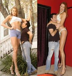 Very tall women pictures