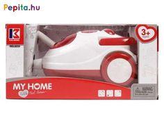 Takaríts fel a piros-fehér porszívóval! A piros-fehér Elemes porszívó egy műanyag háztartási gép, amivel utánozhatod, ahogy a felnőttek takarítanak. A porszívó játék közben hangokat és fényeket is ad ki magából, ráadásul a tartályában kis szemcsék zörögnek, ami hasonlít az igazi tartályos porszívó működésére. A porszívó hajlékony csővel készült, a portartályt fel tudod nyitni, hogy ki tudd tisztítani a belsejét! A piros-fehér Elemes porszívó 3 db AA ceruzaelemmel működik, a csomagolás az… Home Chef, Home Appliances, House Appliances, Appliances