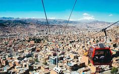 La Paz, Bolivia: 'The vertical city that never stops' Frenetic, high-altitude La Paz in Bolivia is attracting visitors with a dizzying urban cable-car network and a burgeoning street-food scene. Nigel Richardson explores it from the ground up La Paz, Bolivia: 'The vertical city that never stops' Photo: Alamy