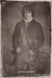 Jamie Fraser (this started out as an experiment, wait for the image to load). @kath_powell http://myoutlanderart.com