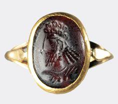 Sassanian+portrait+seal+Dukes+Argyll#Antiaue#Jewelry#Gem,pristin,ancient,finishing stone