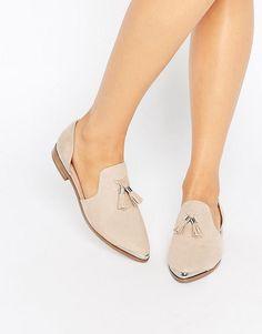 ASOS   ASOS MELODY Pointed Flat Shoes at ASOS