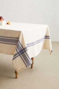 Anthropologie Bistro Tablecloth