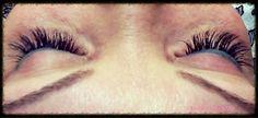 Eyelashes extension.