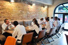 Staff meal at Balena