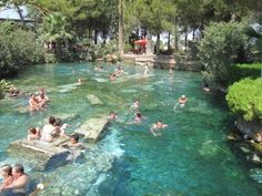 Cleopatra pool - turkey