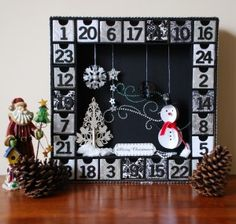 I love making these advent calendars!