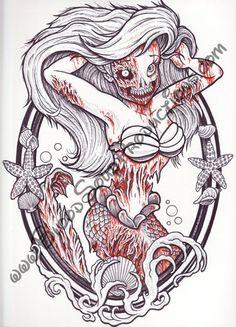 Zombie Princess, Ariel