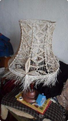 Interiores, artesanía, productos Macrame Macrame: Temas del pasado. Foto 4