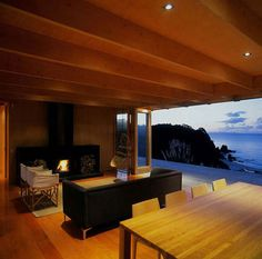 Cabin living room - view!