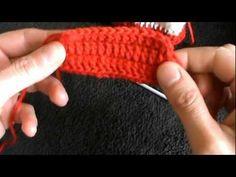 crochet baby booties part one