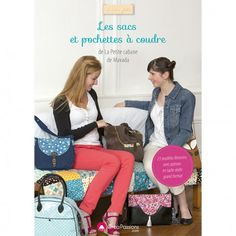 """Le nouveau livre d'Edwige Foissac, alias Mavada, la blogueuse spécialiste des sacs ! Elle propose l'utilisation de matières diversifiées : tissus, jean, velours, simili cuir... Son premier livre à succès : """"Cartables et sacs à dos"""" : ISBN 978-2814101678"""