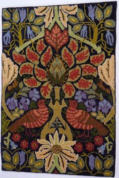 """Dove and Rose Source: William Morris  """"Dove and Rose"""" tapestry, 1879 private collection"""