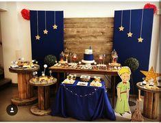 Prince Birthday Party, Boy Birthday Parties, Baby Birthday, Little Prince Party, The Little Prince, The Petit Prince, Prince Wedding, Police Party, Backdrop Decorations