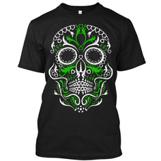 (Tshirt Design) Sugar Skull [Tshirt Facebook] Hoodies Tee Shirts
