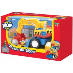 Wow Toys Dexter The Digger Play Set, Multicolor
