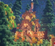 Minecraft Cottage, Cute Minecraft Houses, Minecraft Houses Blueprints, Amazing Minecraft, Minecraft House Designs, Minecraft Creations, Minecraft Buildings, Minecraft Building Guide, Minecraft Plans