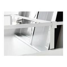 IKEA - MAXIMERA, Divider for high drawer, transparent