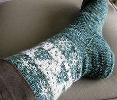 In my family, Christmas socks are pretty much a requirement at Christmas. Once I showed up in insufficiently festive socks and was given socks to wear. So, for the last couple of Christmases I've b...