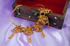 Магазин мастера Елена Ларина - ювелирное кружево: колье, бусы, браслеты, свадебные украшения, серьги, кулоны, подвески
