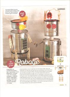 Surprise robot