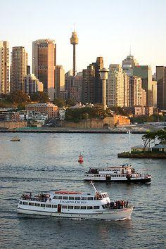 Boat Cruises, Sydney Harbour, NSW, Australia