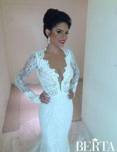 Incredibly beautiful Berta bride ❤️