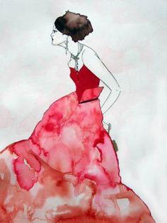 contemporary fashion illustration - Поиск в Google