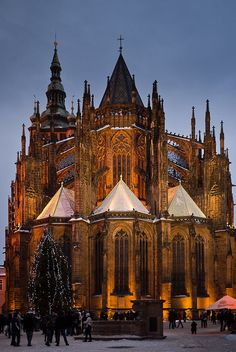 St. Vitus Cathedral, Prague Castle, Czech