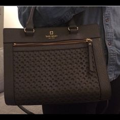 Kate Spade Perry Lane Tote KS Laser Cut ( SHOWING) TV $450 kate spade Bags Satchels
