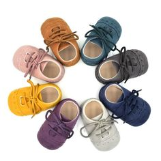 cheaper 3ab42 e8713 Hot Newborn Baby First Walk Shoes Girl Boy Soft Nubuck Leather Prewalker  Anti-slip Shoes Moccasins Footwear Shoes Toddler Shoes(China)