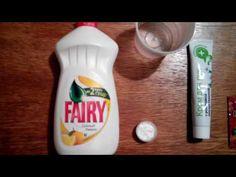 Как сделать лизун в домашних условиях без тетрабор - YouTube