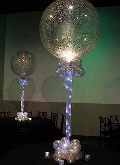 Silver Sparkle Balloon