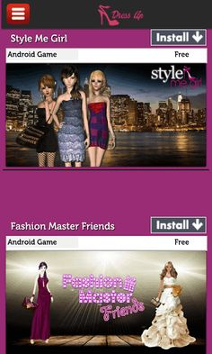 Dress up style list new fashion games