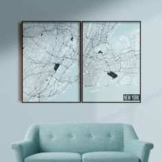 FREE SHIPPING WITHIN EU AND USA  We love minimal design and minimal interiors. Our posters and prints will tell you that. We also love city maps. Cold schemes of this poster are perfect for cold interiors. Get if personalized if needed. Head to Etsy for details.    #cityposter #cityprint #wallart #walldecor #homedecor #homedesign #minimalisticwallart #moderninteriordesign #coldinterior #coldcolors Map Wall Art, Map Art, Poster Wall, New York Poster, Map Of New York, Minimalist Poster Design, Minimal Design, Staircase Wall Decor, Simple Poster