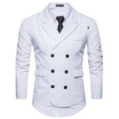 Men Formal Business Slim Fit Suit Vest Wedding Tuxedo Waistcoat Sleeveless Tops in Clothing, Shoes & Accessories, Men's Clothing, Coats & Jackets Mens Suit Vest, Mens Suits, Suit Jacket, Blazer Vest, Casual Blazer, Double Breasted Waistcoat, Tweed Waistcoat, Cheap Mens Blazers, Gilet Costume