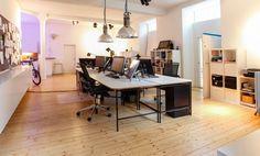 Arbeitsplatz in traumhaftem Hinterhof-Haus in Neuhausen #Büro, #Bürogemeinschaft, #Office, #Coworking, #München, #Munich