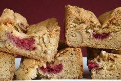 Raspberry Pecan Blondies | Bake or Break