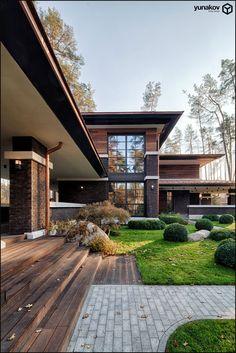 prairie house. yunakov design.