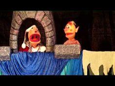 Teatro de títeres La princesa y el dragón de sol y tierra