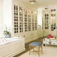 Master bath closet combo on pinterest bathroom closet closet and