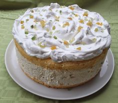 Cakes And More, Cheesecakes, Vanilla Cake, My Recipes, Tart, Pudding, Sweets, Snacks, Cookies