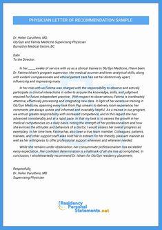 letter of intent medical school Finest Physician Letter of Recommendation Sample Business Letter Template, Receipt Template, Letter Templates, Communication Plan Template, Formal Business Letter, Letter Of Intent, Letter Example, Reference Letter, Internal Medicine