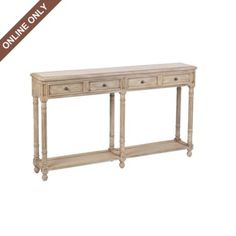 Ivory Marble Top Console Table at Kirkland's