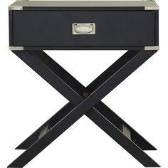 Mercury Row Neptune 1 Drawer End Table | AllModern