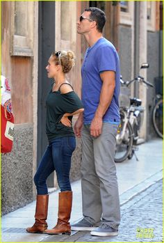 Hayden Panettiere & Wladimir Klitschko: Verona Sightseeing Couple ...